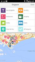 Screenshot of Singapore City Guide