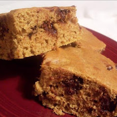 Pumpkin Choc Chip Brownies