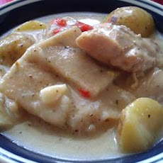 Old-Fashioned Chicken And Slick Dumplings