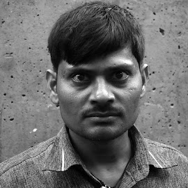 Look into my eyes by Roy D'Silva - People Portraits of Men