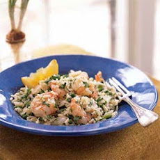 Shrimp and Rice Salad with Cilantro-Lemon Dressing