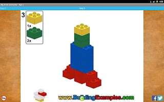 Screenshot of Big brick examples - Age 2