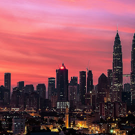 KLCC by Choppatony Tam - City,  Street & Park  Skylines