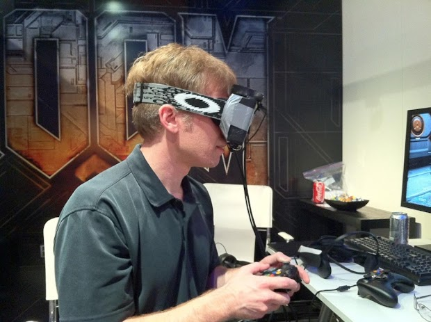 John Carmack working on first-party games for Oculus Rift