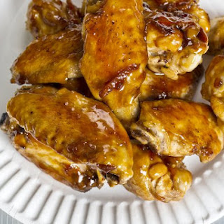 Tamarind and Dark Beer-Glazed Wings