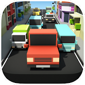 Download Blocky Pixel Car Traffic Racer APK to PC
