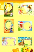 Screenshot of Kids Photo Frames