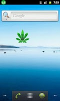 Screenshot of Marijuana Battery Widget