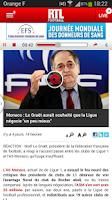 Screenshot of RTL Football
