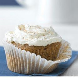 Carrot-Ginger Cupcakes with Spiced Cream Cheese