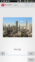 Screenshot of Learn Turkish with WordPic