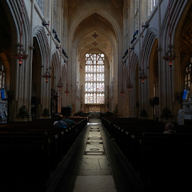 Bath Abbey by Deborah Russenberger - Buildings & Architecture Places of Worship ( church, cathedral, abbey )