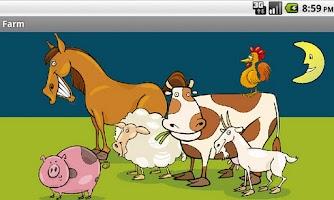 Screenshot of Farm Animals for Kids