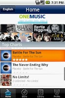 Screenshot of Maxis MusicUnlimited ONEMusic