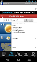 Screenshot of KSBW Action News 8 and Weather