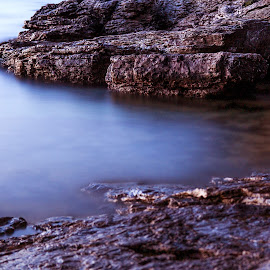 Rocks in the shallow by Zvonimir Mihaljek - Landscapes Waterscapes