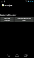 Screenshot of Camera Disabler / Locker