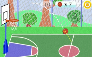 Screenshot of Target Basketball