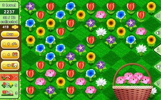 Screenshot of Bouquets - puzzle flowers best