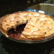 Blueberry Meringue Pie