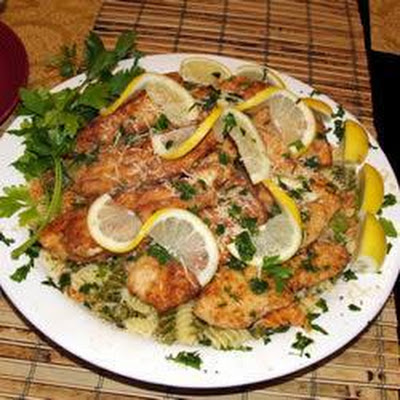 Italian Pan-fried Lemon Chicken