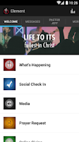 Screenshot of Element Church
