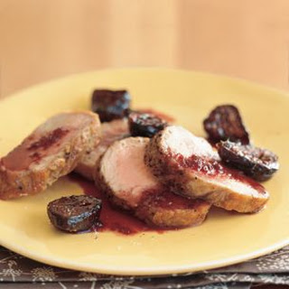 Pork Tenderloin with Thyme and Figs