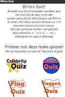 Screenshot of BN'ers Quiz (Nederlands)