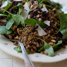 Arugula Pesto Wheat Berries