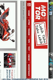 Motorplus Web Launcher - screenshot