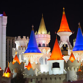 Camelot by Richard Duerksen - Buildings & Architecture Office Buildings & Hotels ( excalibur, las vegas, casino, hotel, nv )