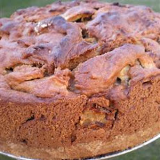 Apple Coffee Cake With Brown Sugar Sauce