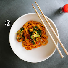 Pumpkin Red Curry Udon