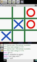 Screenshot of TIC TAC TOE ONLINE