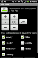 Screenshot of BlueTimer