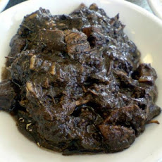Filipino Chocolate Meat (Dinuguan)