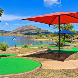 Putt Putt Golf Course by Kathy Suttles - Sports & Fitness Golf
