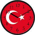 Analog Clock Turkey icon