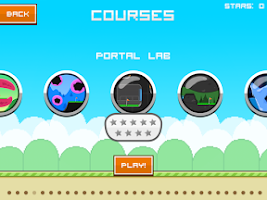 Screenshot of Flappy Golf