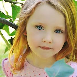 Nature Girl by Cheryl Korotky - Babies & Children Child Portraits