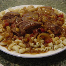 Am's Crock Pot Beef Goulash Stew