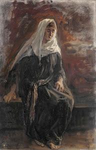 RIJKS: Jozef Israëls: painting 1899