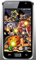 Screenshot of Halloween Anime Live Wallpaper