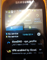 Screenshot of VPN Over DNS : Premium Tunnel