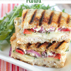 Loaded Turkey and Hummus Mediterranean Panini