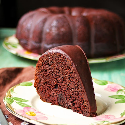 Triple Chocolate Beet Bundt Cake