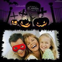Screenshot of Happy Halloween Photo Frames