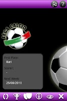 Screenshot of Lega Calcio Pocket 10
