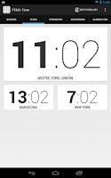Screenshot of FEMA Time