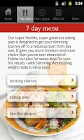 Screenshot of A taste of Slimming World 2.0